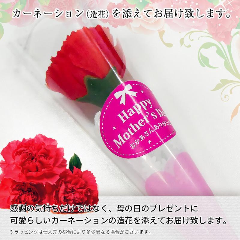 母の日限定ギフト プレゼント [紀州五十五万石+造花セット] kawamotokk 03