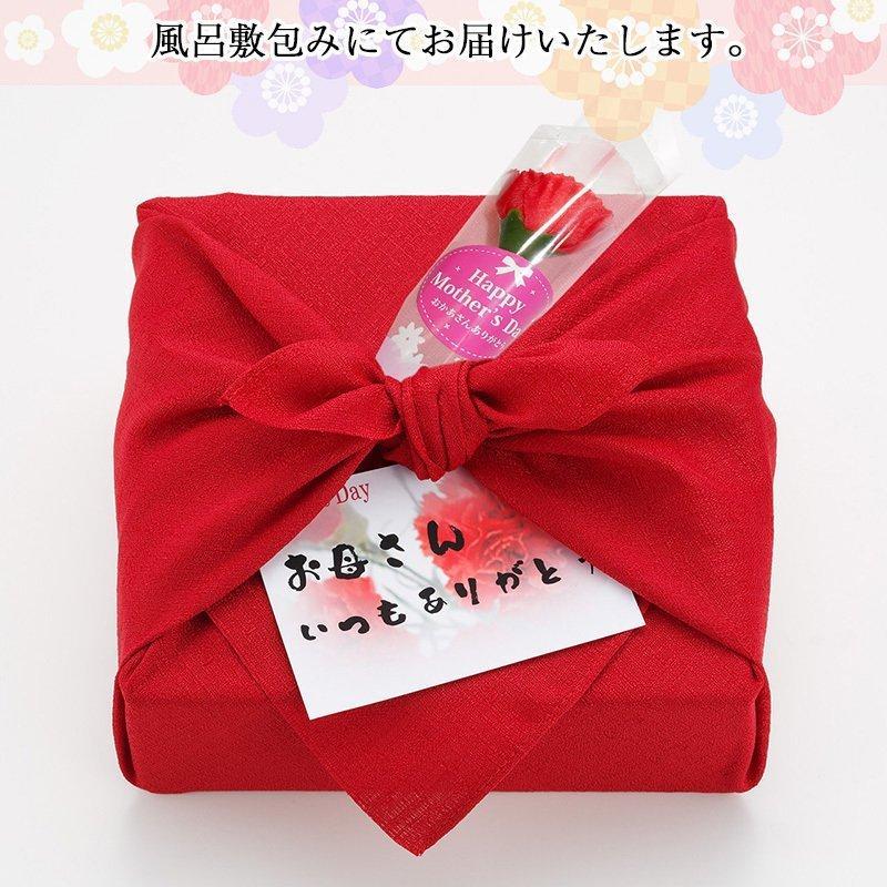 母の日限定ギフト プレゼント [紀州五十五万石+造花セット] kawamotokk 06