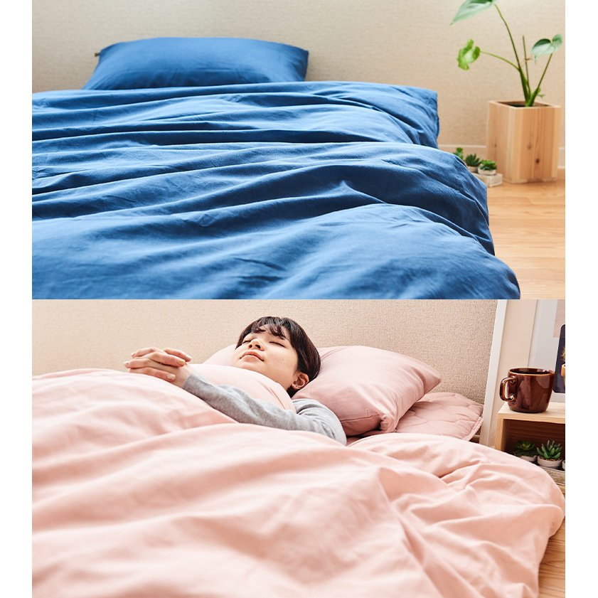 掛け布団カバー シングルサイズ 綿100% 無添加 和晒ガーゼ 日本製 kawamura-futonten-ya 13