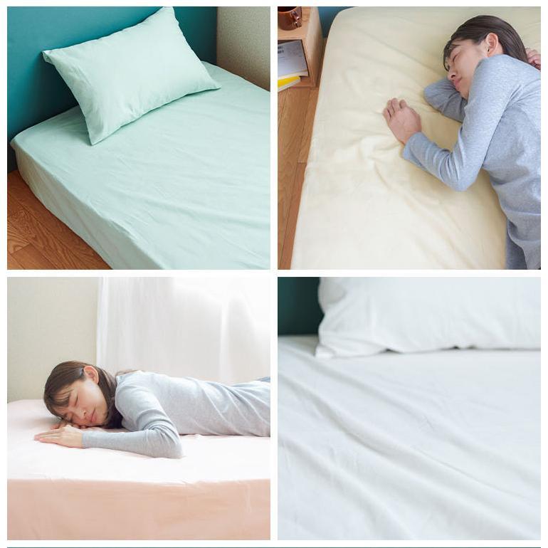 ボックスシーツ ダブルサイズ 日本製 綿100% ベッドシーツ ベッドカバー kawamura-futonten-ya 15