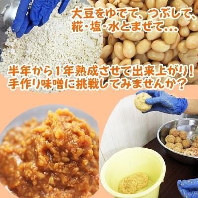 手作りみそセット 合わせみそ20歩麹・出来上がり4kg kawamura-koujiya 03