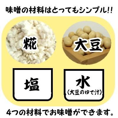 手作りみそセット 合わせみそ20歩麹・出来上がり4kg kawamura-koujiya 04