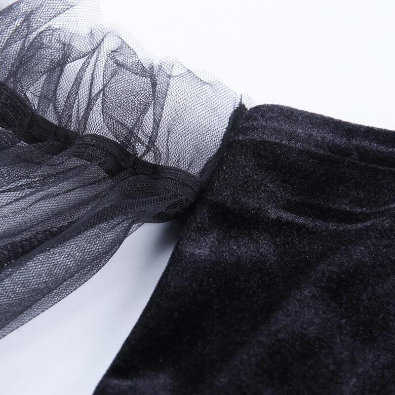 ワンピース レディース ロリータ ブラック ハロウィンコスプレ衣装 ロリータ服 ドレス レディースワンピース セクターメイド服 二次元衣装 ロリータ風|kawamura-store|08