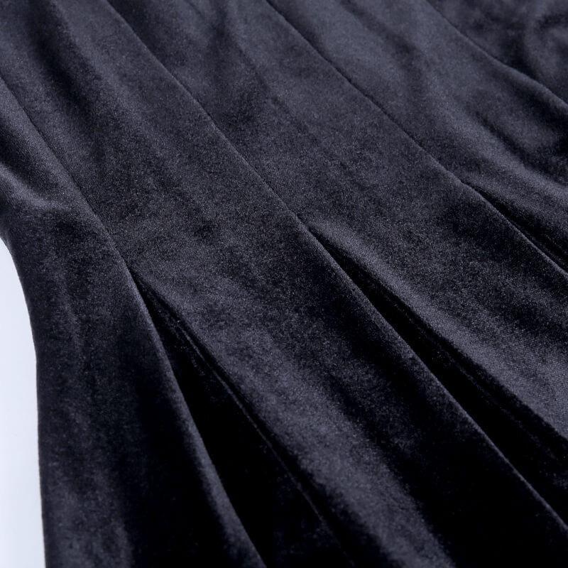ワンピース レディース ロリータ ブラック ハロウィンコスプレ衣装 ロリータ服 ドレス レディースワンピース セクターメイド服 二次元衣装 ロリータ風|kawamura-store|09