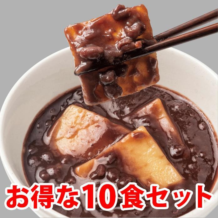 釜揚げ屋 山田の和すいーつ「あずきばっとう」10食セット【送料無料】 kawasai