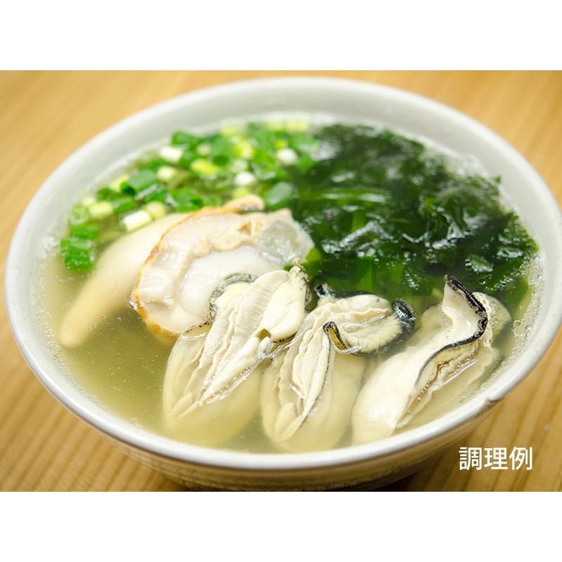 釜揚げ屋「牡蠣・帆立・わかめラーメン」6食セット|kawasai