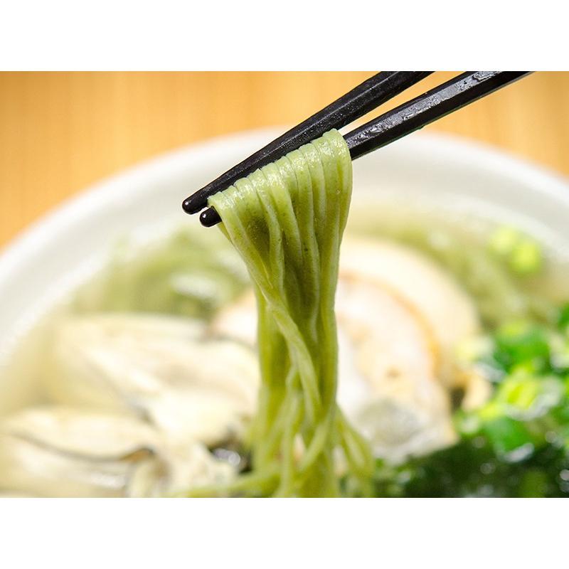釜揚げ屋「牡蠣・帆立・わかめラーメン」6食セット|kawasai|03