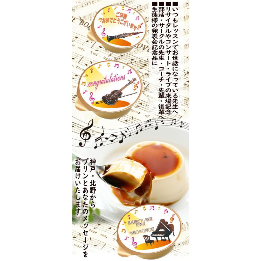 宅配便 ハロウィン ミルクプリン 6個入 音楽 25種 ラッピング付 kazamidorihonpo 03