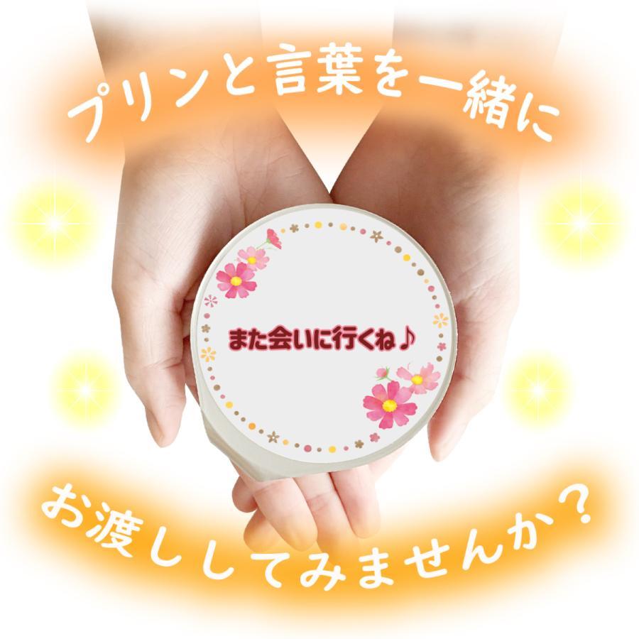 敬老の日 ギフト 個包装 ミルク プリン6個入 ラッピング付 kazamidorihonpo 05