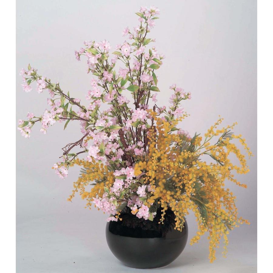 桜&ミモザアレンジ 桜·サクラ 店舗装飾 春の装飾品 桜