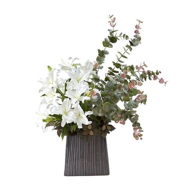 モダンアレンジLL アレンジメント (キット·セット含む) アーティフィシャルフラワー 造花 ギフトアレンジ