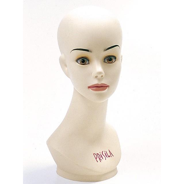 ウィッグ マネキン カット台 女性小  プリシラ