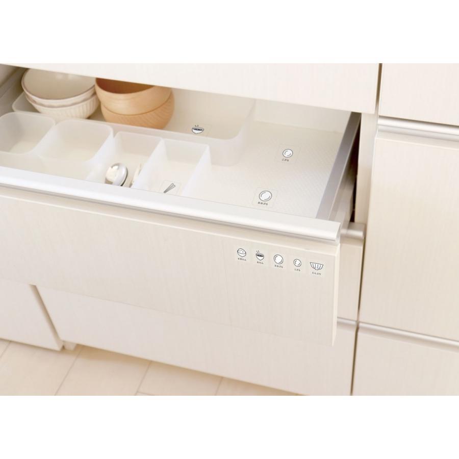 キッチンが綺麗に片づく食器めじるしシール 整理 収納 ステッカー 台所 目印 ラベル|kazokushuno|05
