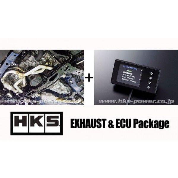 【 TOYOTA 86 (ハチロク) ZN6 / FA20 用 】 HKS エキゾースト&ECUパッケージ (GT-SPEC ECU Package) 品番: 33009-AT002 (HKS)