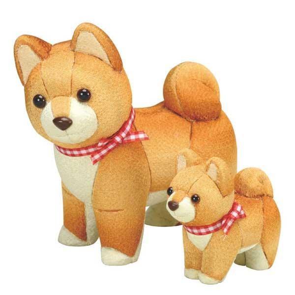 予約商品 01-883 犬の親子 完成品