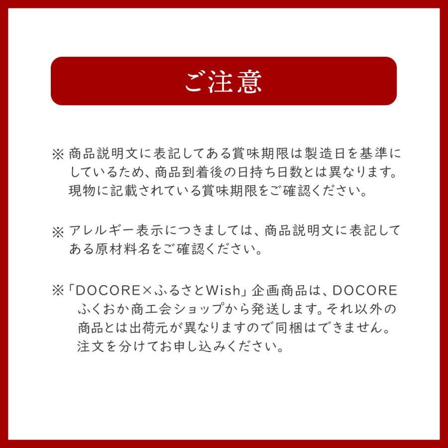 DOCORE福岡【八女・広川】の新定番詰め合わせ|kbcshop|16