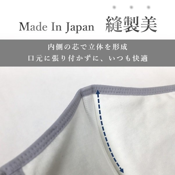 布マスク 日本製マスク 肌荒れ 快適 おすすめ 小林縫製 マスク 綿素材 おしゃれ 洗える  肌に優しい 吸水速乾 UVカット 透湿性 -  ピーチテック|kbsb|11