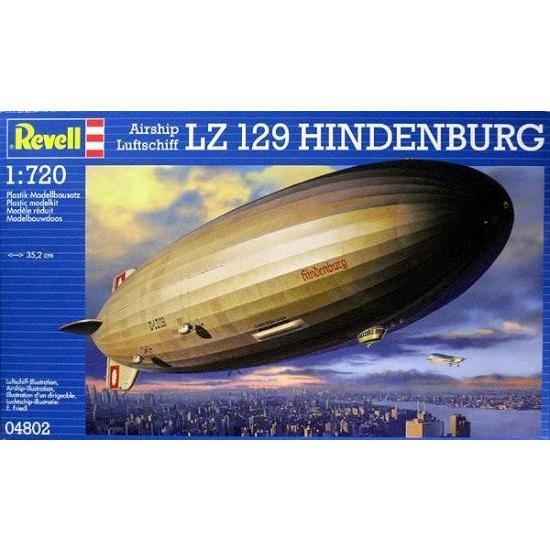 1/720 ツェッペリン飛行船 LZ129 ヒンデンブルグ号/レベル04802 ...