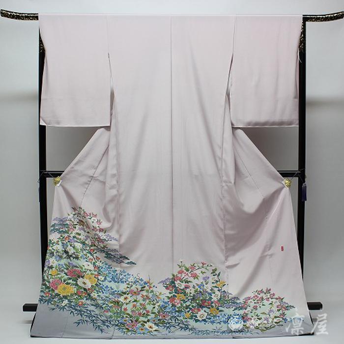 加賀友禅 色留袖 高野富夫「花丸松竹梅」|kd-rinya