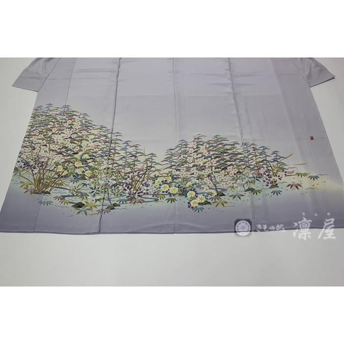 加賀友禅 色留袖 田嶋秀之「松竹梅華」 kd-rinya 02