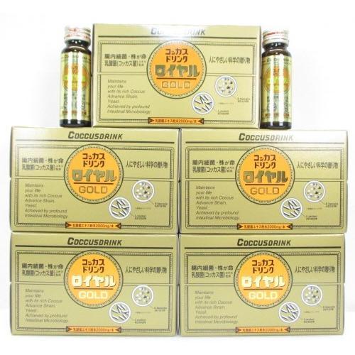 50本set:コッカスドリンクローヤル10瓶入x5·アドバンス腸内細菌飲料ロイヤル [最新品が最安値] 送料無料