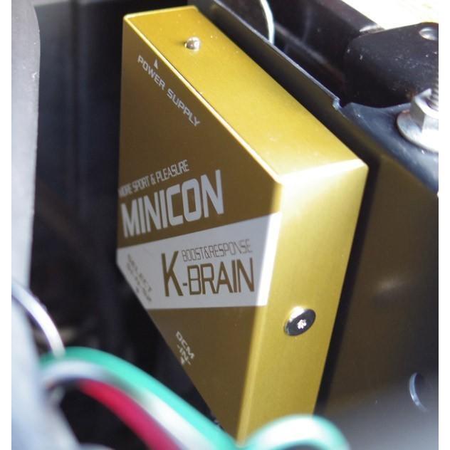 K-BRAIN スズキ ジムニーJB64W専用MINICON & シンプルスロコン PWR+ブースターEVOセット |keepsmile-store|02