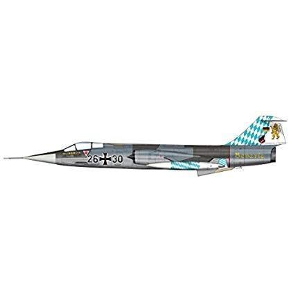 ホビーマスター 1/72 F-104G スターファイター 西ドイツ空軍 JG.32 26+30 完成品