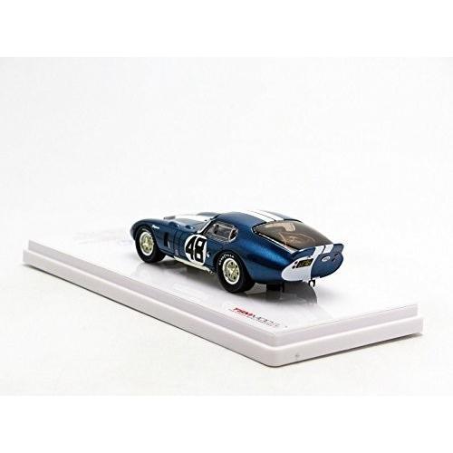 TSM MODEL 1/43 シェルビー・デイトナクーペ CSX2601#48 アラン・マン・レーシング 1965 モンツァ1000Km 1