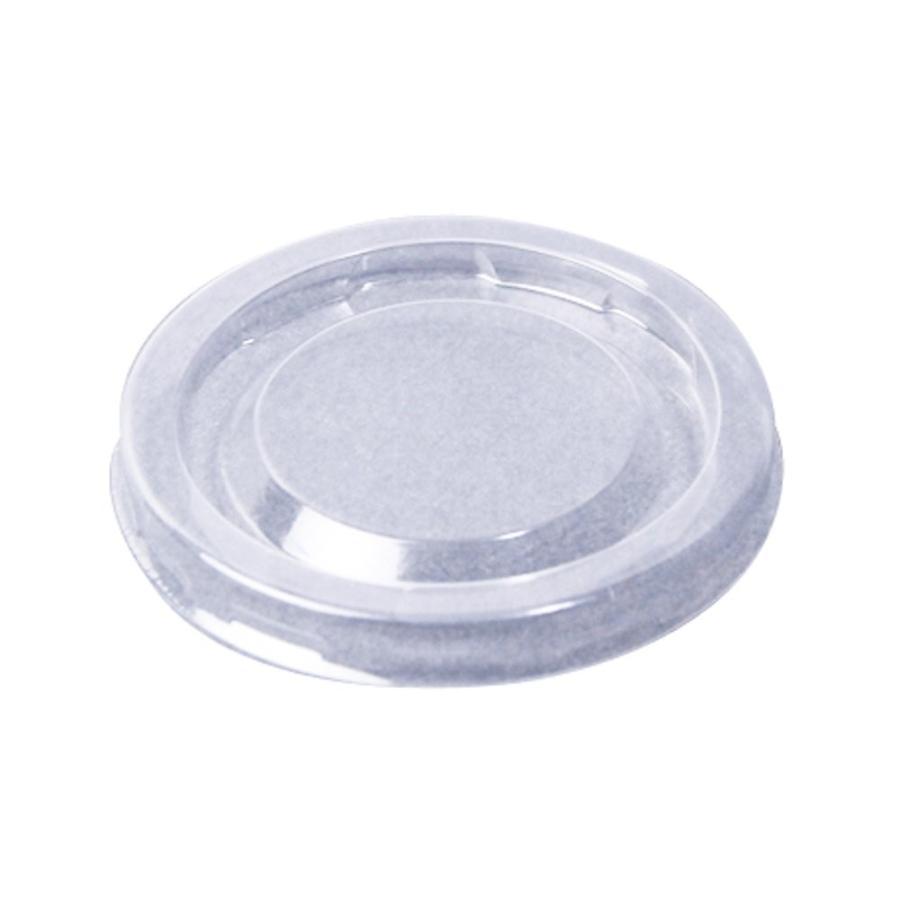 日本デキシー 業務用リッド(蓋) ポーションカップ用透明リッド 4000枚セット GLDC01KL(0.8g)