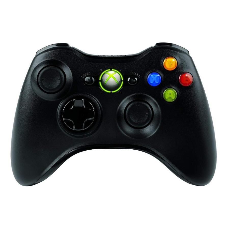 マイクロソフト ゲームコントローラー ワイヤレス/Xbox/Windows対応 ブラック Xbox 360 Wireless Control