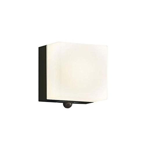 コイズミ照明 人感センサ付ポーチ灯 マルチタイプ 白熱球60W相当 黒色 AU45874L