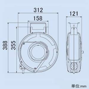 ハタヤ エヤーマック2 8.5×12mm 10m ADU2103