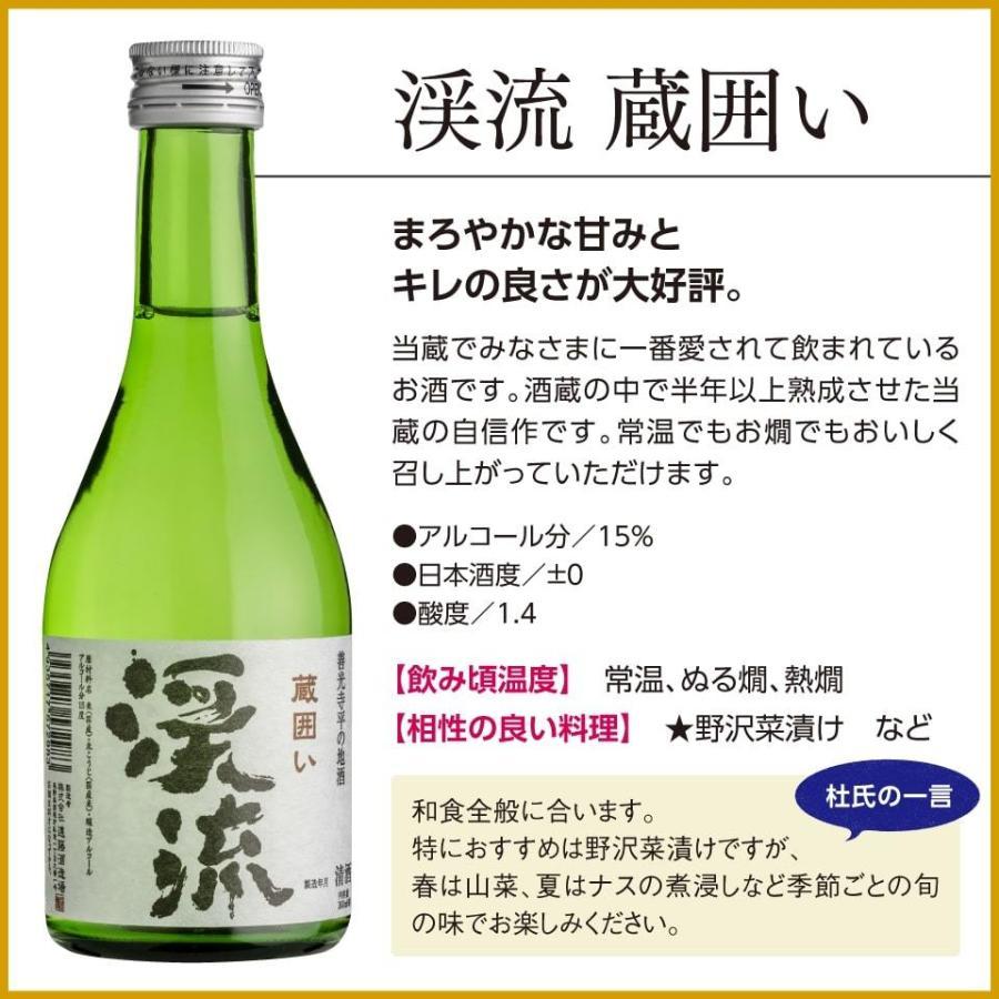 敬老の日 2021 日本酒 あすつく モンドセレクション 金賞 受賞酒 飲み比べセット 300ml 5本|keiryu-endo|08