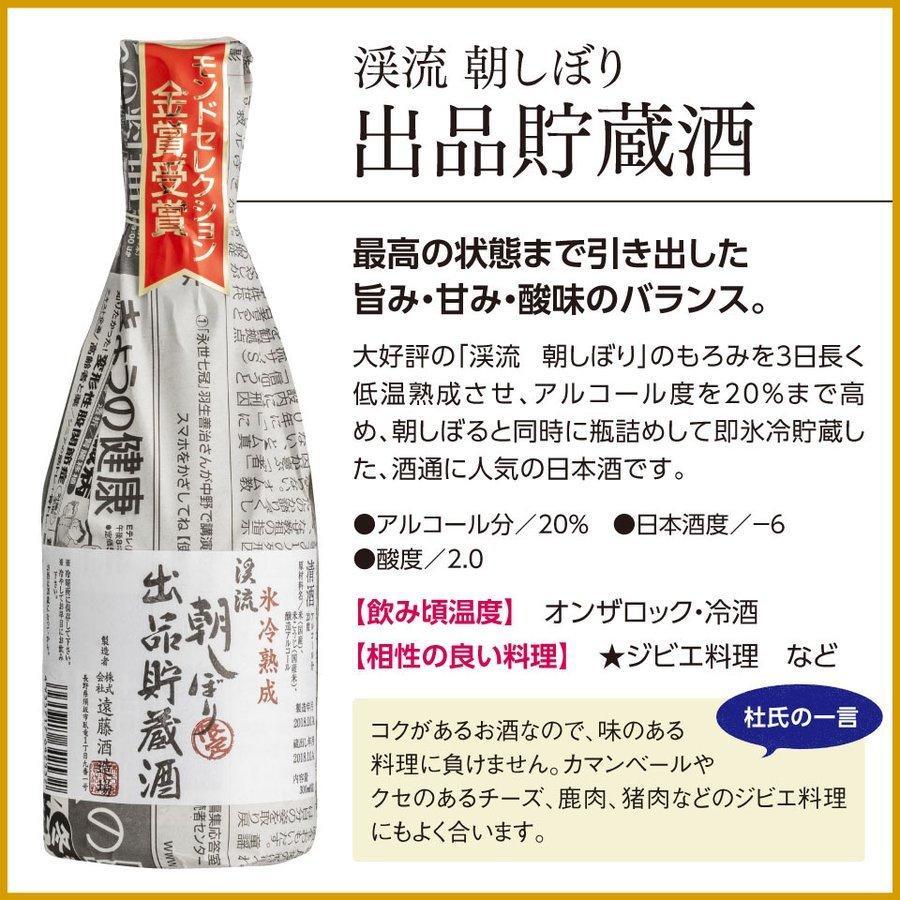 敬老の日 2021 日本酒 あすつく モンドセレクション 金賞 受賞酒 飲み比べセット 300ml 5本|keiryu-endo|09