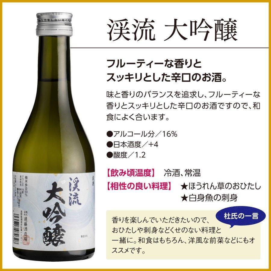 敬老の日 2021 日本酒 あすつく モンドセレクション 金賞 受賞酒 飲み比べセット 300ml 5本|keiryu-endo|10