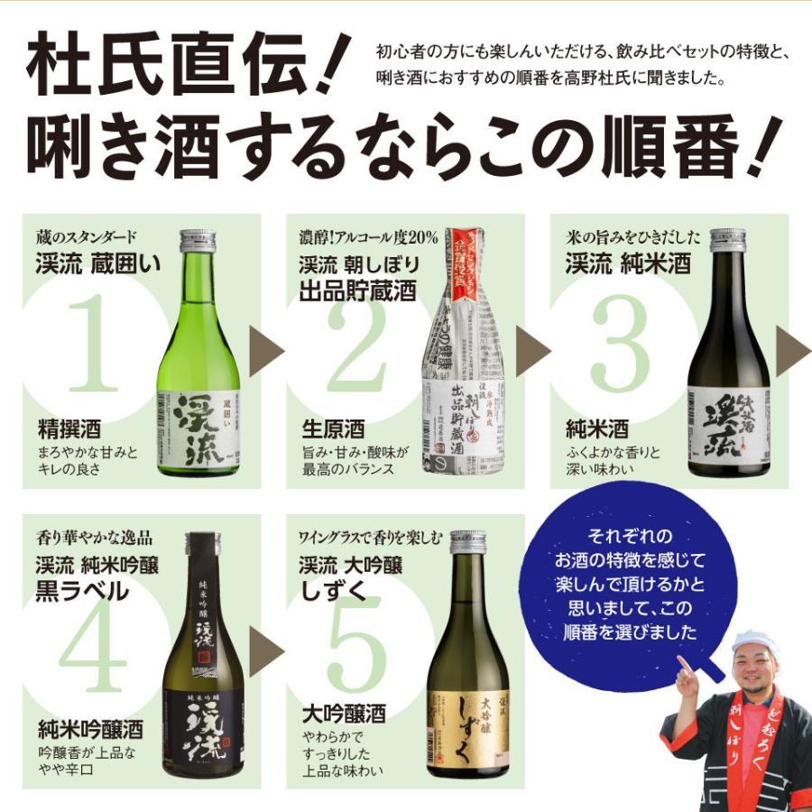 ギフト 2021 日本酒 あすつく ゴールド 飲み比べセット 300ml 5本|keiryu-endo|09