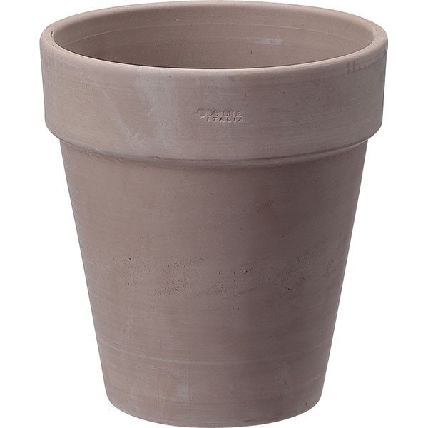 植木鉢 アルトポット カプチーノM 30型 4個セット 全高32.5cm×直径30.5cm テラコッタ 素焼き 陶器製 底穴あり プランター ポット