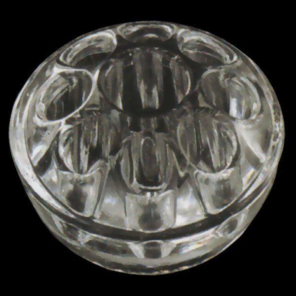日本産 ガラスの剣山 花器 2個セット 全高5cm×直径8cm 剣山 けんざん ケンザン フラワーベース 花挿し アレンジメント クリア 透明 即日出荷 硝子