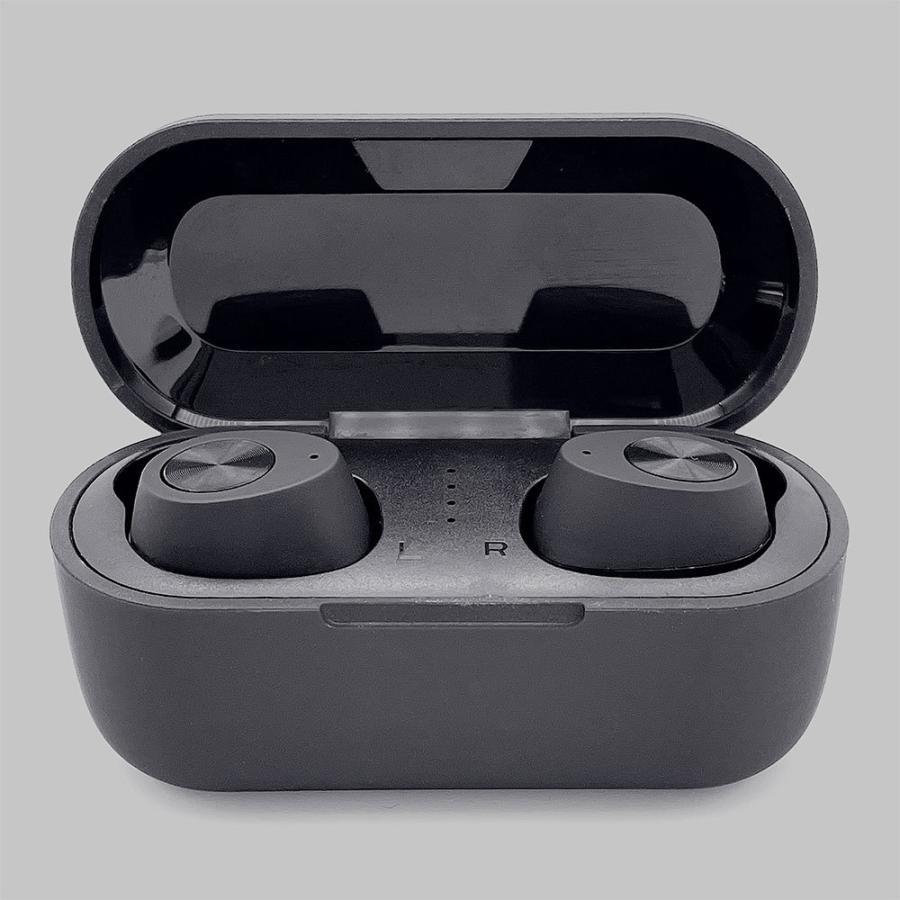 ラスタバナナ iPhone スマホ Bluetooth 5.1 完全ワイヤレス ステレオ イヤホン マイク ブルートゥース 左右分離型 通話可能 Type-C充電口 ハンズフリー|keitai-kazariya|03