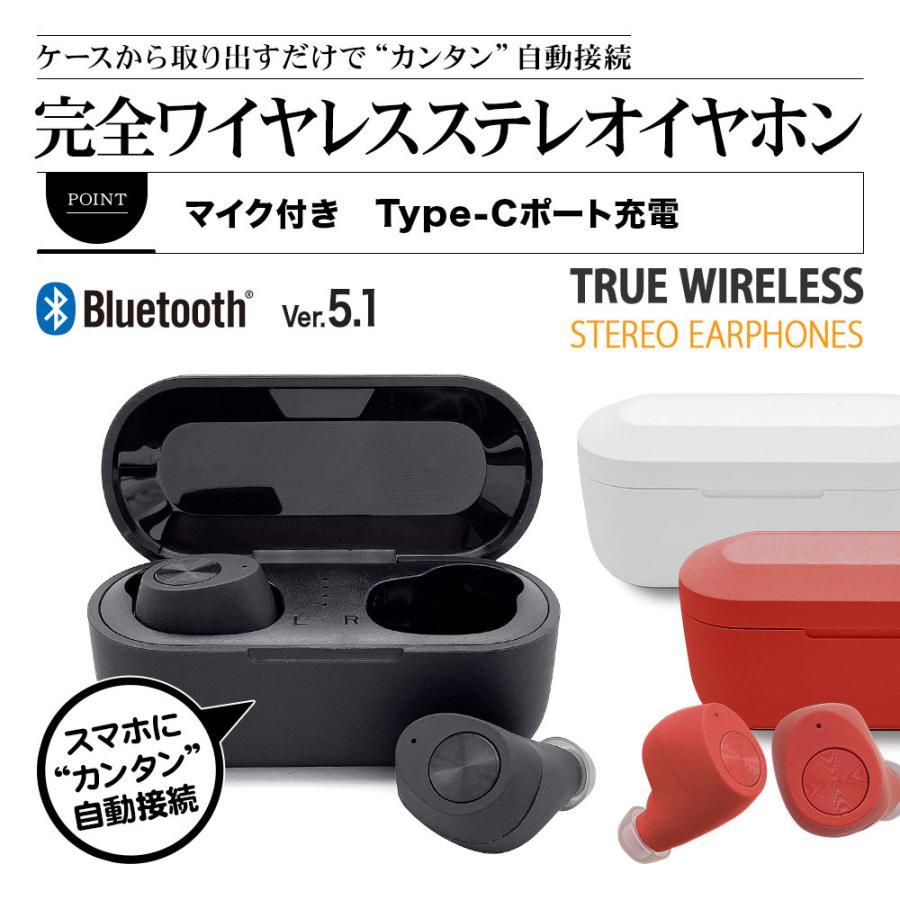 ラスタバナナ iPhone スマホ Bluetooth 5.1 完全ワイヤレス ステレオ イヤホン マイク ブルートゥース 左右分離型 通話可能 Type-C充電口 ハンズフリー|keitai-kazariya|08