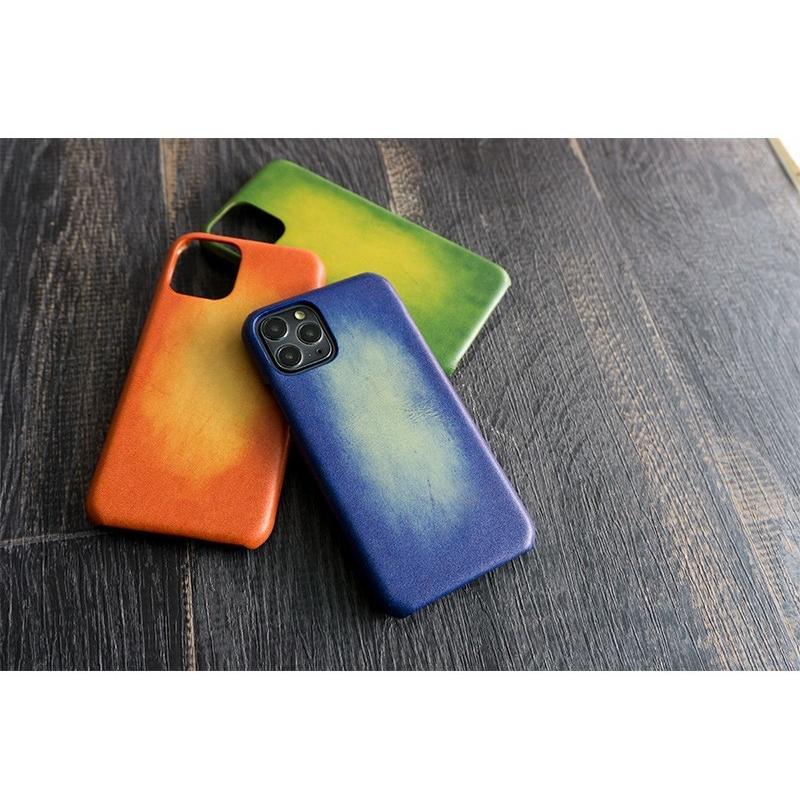 スマホケース 主要機種 全機種対応 まるっと全貼り グラデーションレザー 革 本革 レザー メンズ ケース カバー iphone SE2 12 ギフト 手作り メール便送料無料 keitaijiman 07