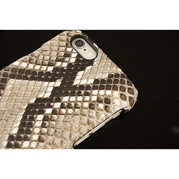 ヘビ革 スマホケース 全機種対応 ダイヤモンドパイソン 本革 iPhone12 Pro Max iPhone12 mini iPhone SE2 iPhone11 アクオスセンス2 カバー メール便送料無料|keitaijiman|03