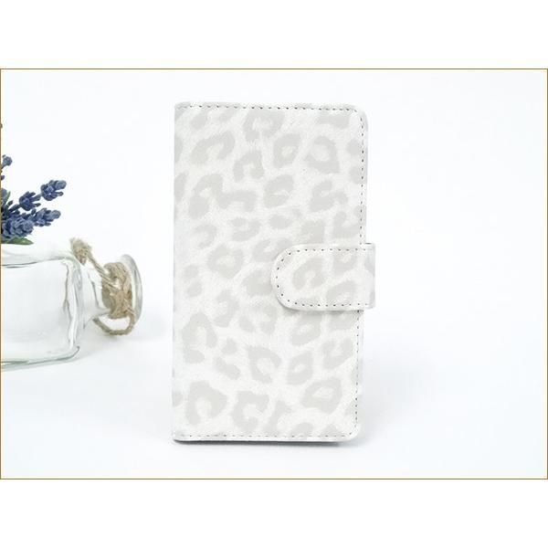 手帳型 スマホケース 多機種対応 レオパード iPhone12 mini iPhone SE2 iPhone11 Pro iPhone XS 携帯ケース スマホ カバー|keitaijiman|04
