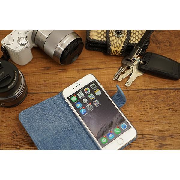 岡山デニム スマホケース 手帳型 カバー iPhone12 Pro iPhone SE2 iPhone11 Pro など 児島デニム ジーンズ 綿100% 携帯ケース スマホ カバー メール便送料無料|keitaijiman|09
