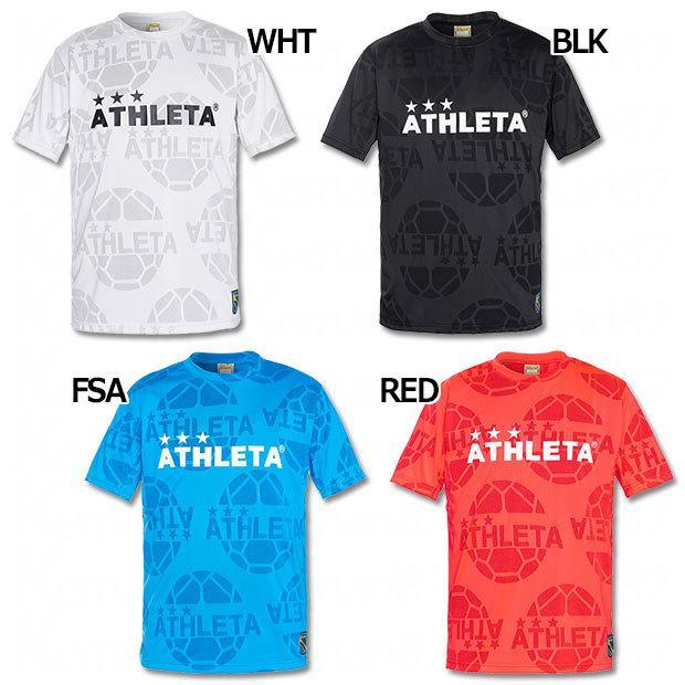 ジャガードメッシュ半袖Tシャツ ATHLETA サッカーフットサルウェアー03352 アスレタ 5☆好評 激安格安割引情報満載