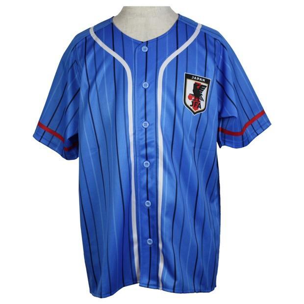 贈物 日本代表 往復送料無料 ベースボールシャツ ナショナルチームウェアー20ss-jfa-bbshrt