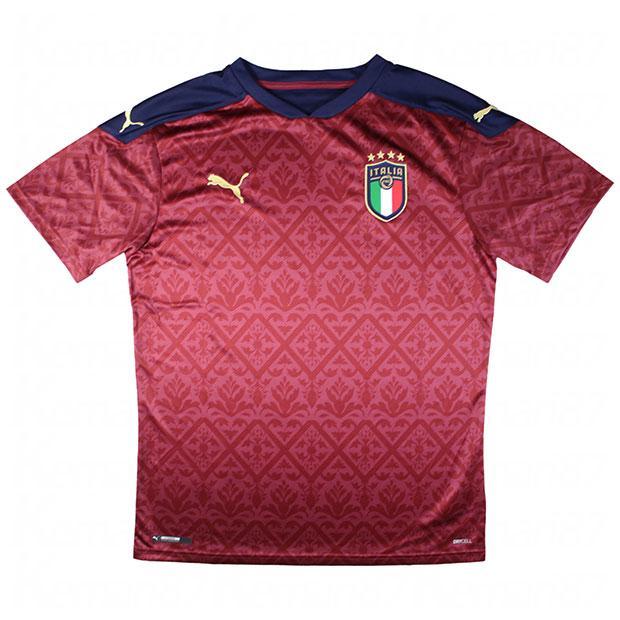イタリア代表 FIGC 2020 GK 半袖レプリカユニフォーム レッド 【PUMA|プーマ】ナショナルチームレプリカウェアー756507-06