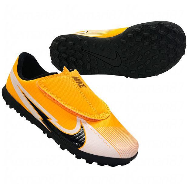 ジュニア ショッピング マーキュリアル ヴェイパー 13 クラブ TF ナイキ サッカーフットサルジュニアトレーニ PS V 2020 NIKE レーザーオレンジ×ブラック