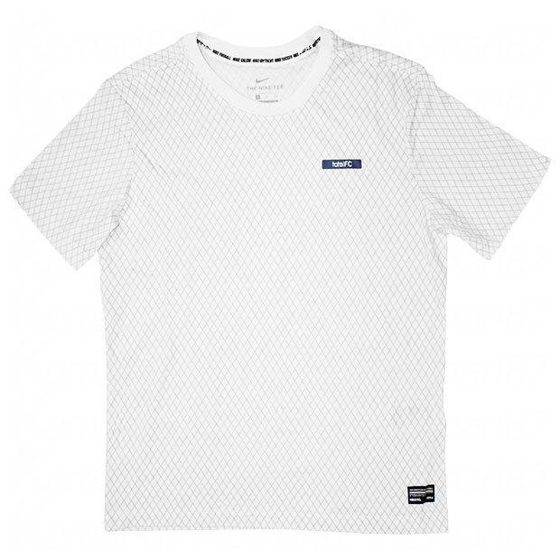 NIKE F.C. スモールブロック 半袖Tシャツ ナイキ サッカーフットサルウェアーcd0170-100 安心と信頼 ホワイト ラッピング無料