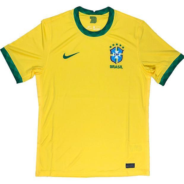 上等 ブラジル代表 2020 ホーム 半袖レプリカユニフォーム ナショナルチームレプリカウェアーcd0689-749 スピード対応 全国送料無料 ナイキ NIKE